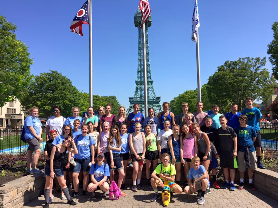 8th Grade Physics Day at Kings Island